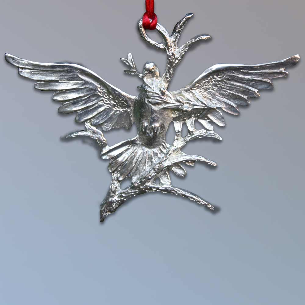 2013 Ornament by Charles H. Reinike III - Descending Dove