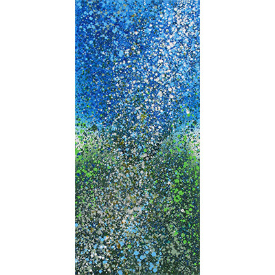 Oceanic Symphony 52 x 24 by Henry Callahan