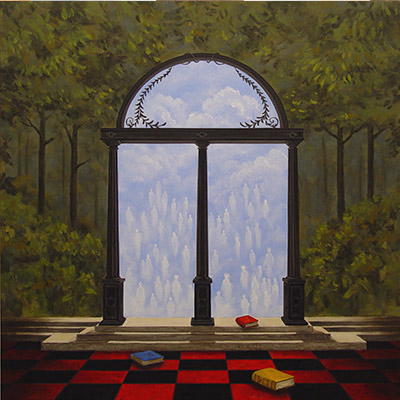 Starting Point-40x40 by Charles H. Reinike III