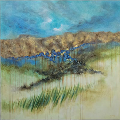 Rooted in Time 48 X 48 by Charles H. Reinike III