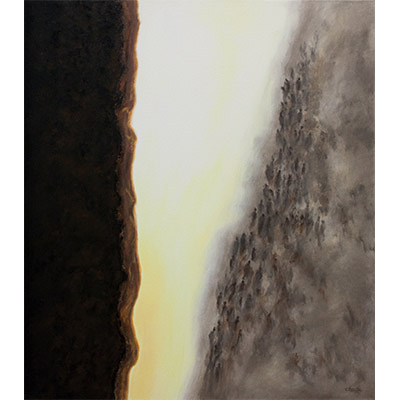 The Edge of Time 48 X 42 by Charles H. Reinike III